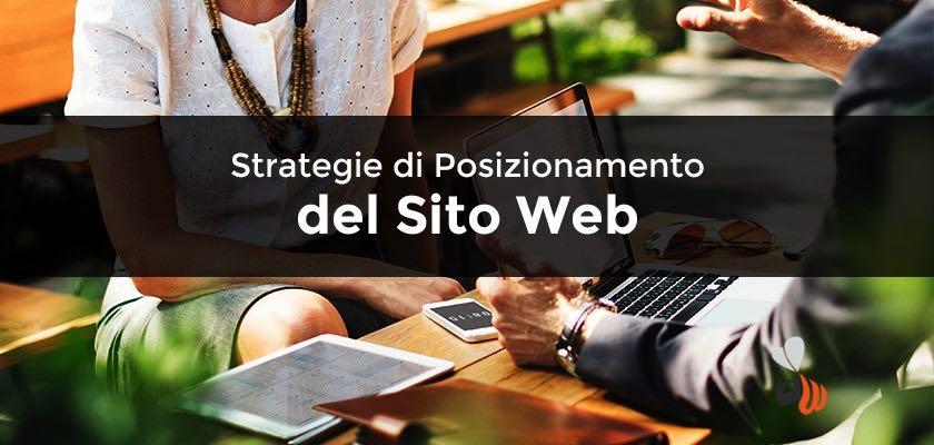 strategie posizionamento sito web